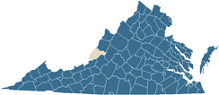 State of Virginia Map